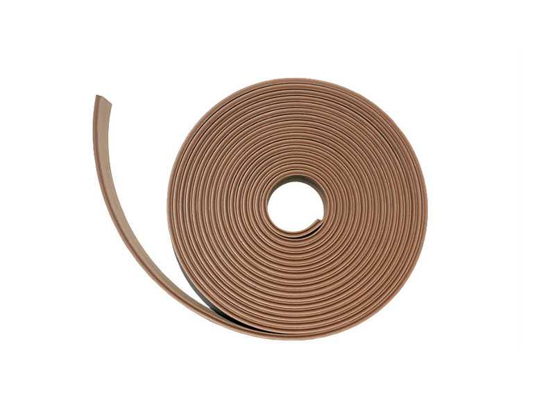 Synthetic teak edging - 50x5MM